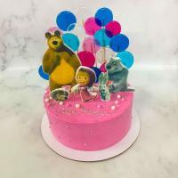 Торт №135 - Маша и медведь