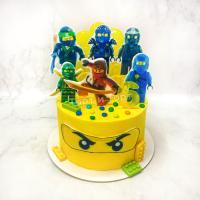 торт с лего мальчику на 7 лет