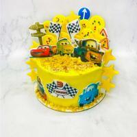 торт мальчику с тачками