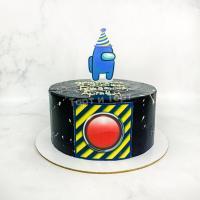 Торт №537 - Амонг Ас черный