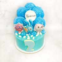 Торт №423 - Смешарики малышкарики
