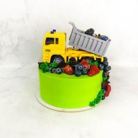 Торт №189 -  С грузовиком