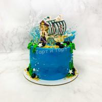 Торт №504 - Пират 2
