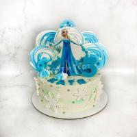 Торт №338 - Эльза из мультика Холодного сердца