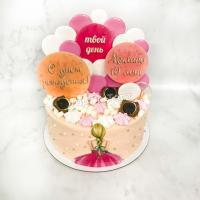 торт девочке подростку