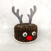 Торт №111 - Новогодний олененок