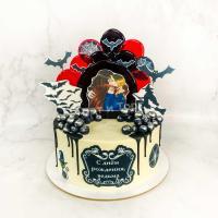Торт №840 - Ведьма с днем рождения