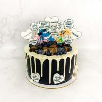 Торт №843 - В стиле Ну погоди!